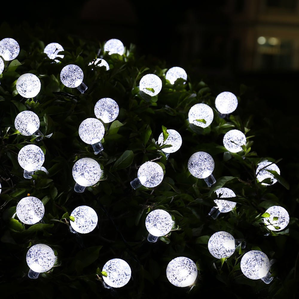 2pcs Solar String Lights